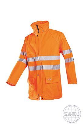 Kép KASSEL HV vízálló kabát n.sárga 2XL
