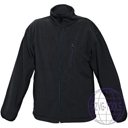 Kép BE-02-004 polár kabát fekete L