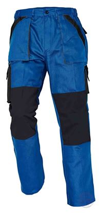 Kép MAX nadrág 260 g/m2 kék/fekete 54