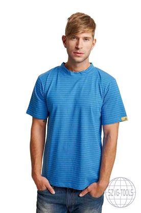 Kép EDGE ESD trikó royal kék 2XL