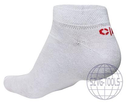 Kép ALGEDI CRV zokni fehér n. 37-38