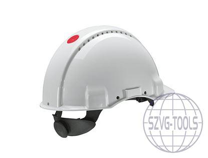 Kép 3M PELTOR G3000NUV sisak - fehér