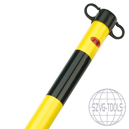 Kép JSP HDE100- láncko oszlop fekete/sárga